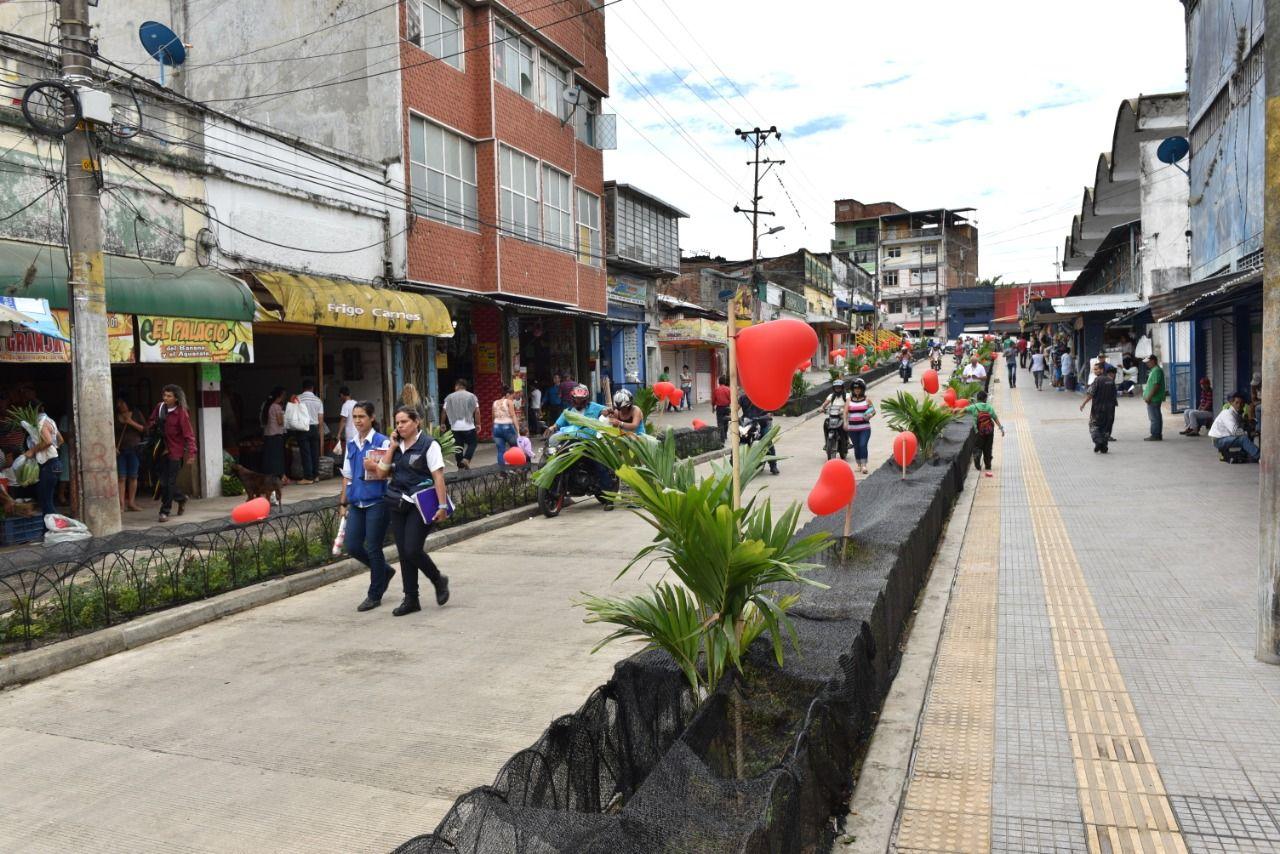 Alcalde Jaramillo inaugura la primera fase del proyecto de modernización de la plaza de mercado de la 21