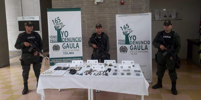 Fiscalía incautó elementos que se usaban para extorsión en cárcel Picaleña