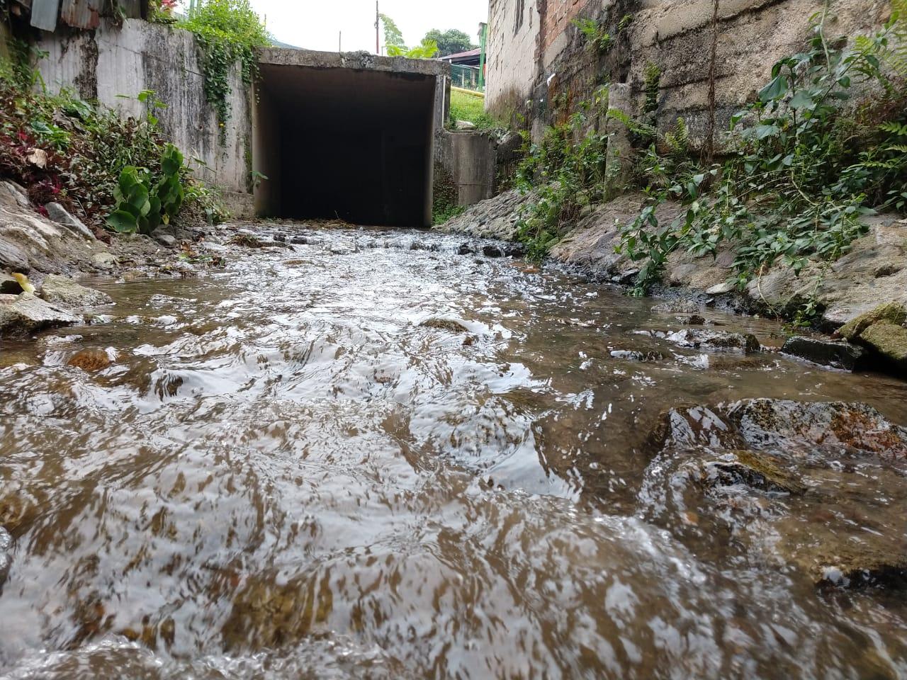 Obras hidráulicas de cerros noroccidentales funcionan correctamente después de aguaceros
