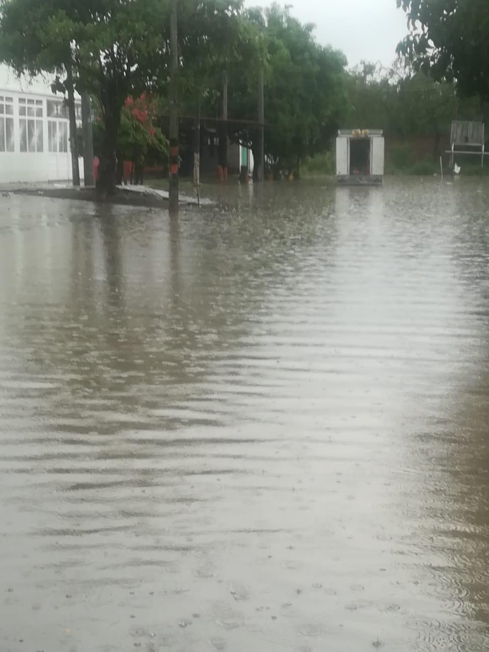 Inundación en Flandes a causa de las fuertes lluvias