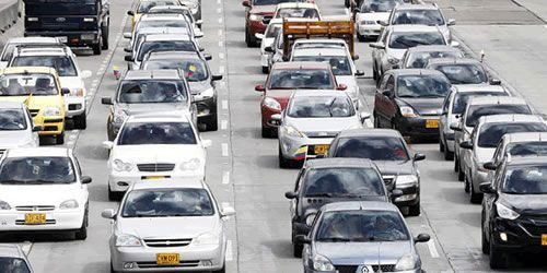 Cerca de 46.278 vehículos se movilizaron en el Tolima durante este fin de semana