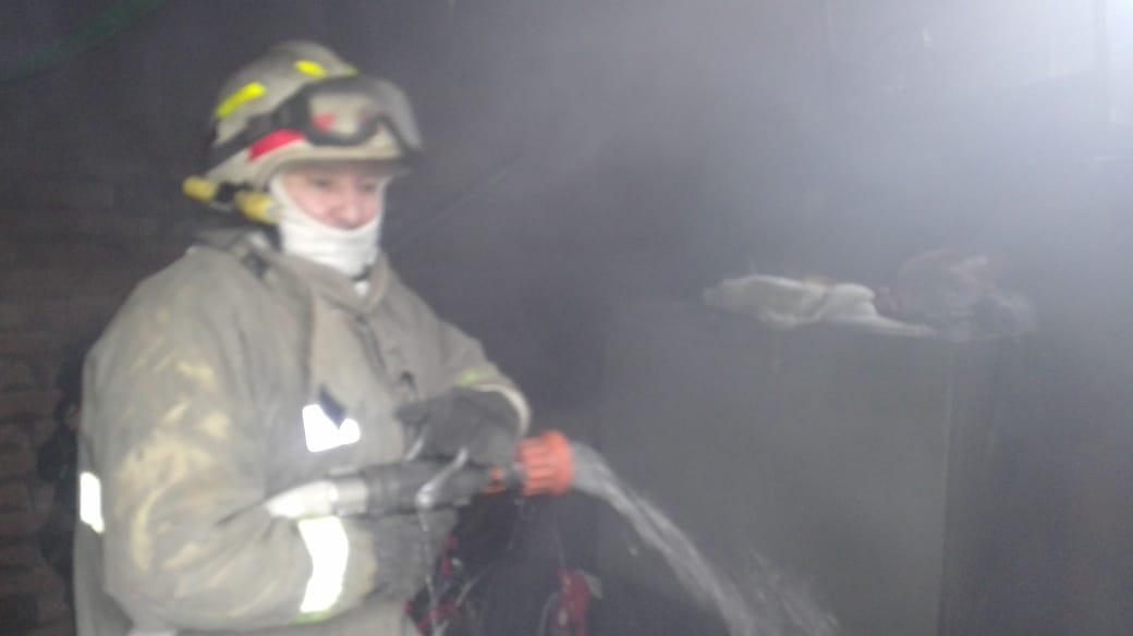 Incendio de casa del barrio Matallana dejó 'en la calle' a una mujer y a tres menores