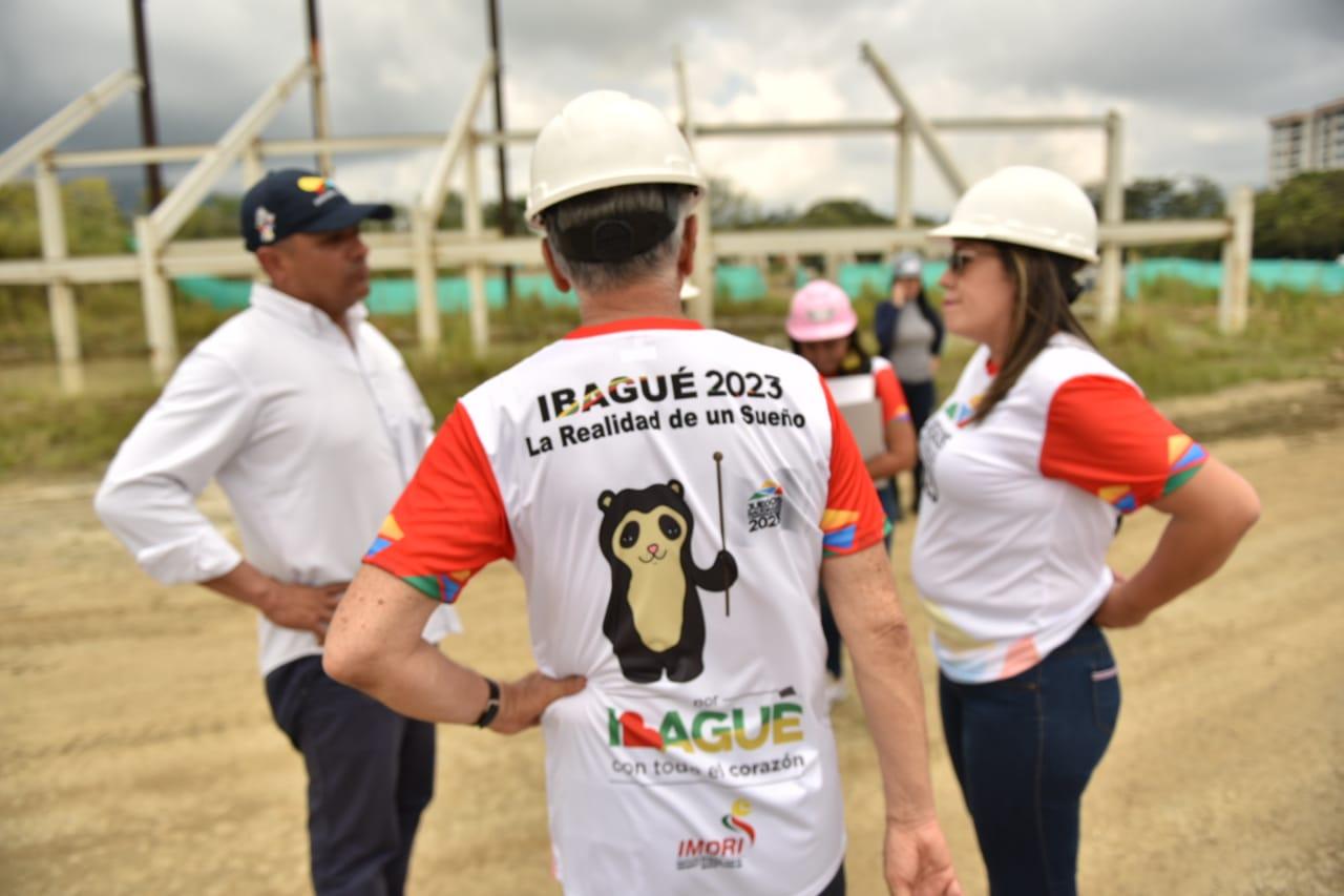 Coldeportes está de visita en Ibagué revisando la propuesta para los Juegos Nacionales 2023