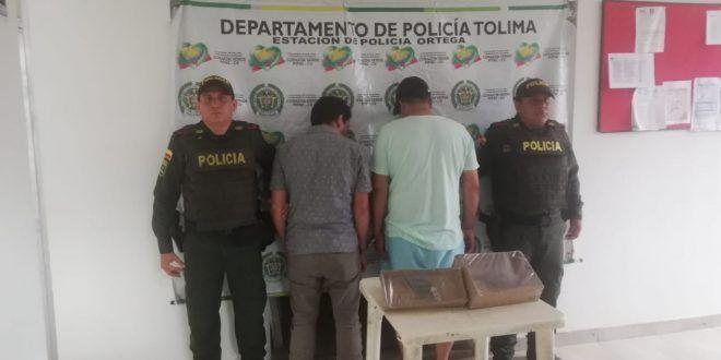 Capturados cuando pretendían robar una bodega de café con armas de fuego
