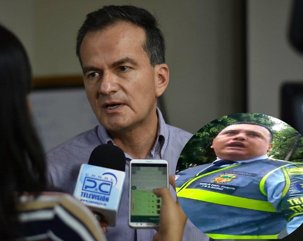 Alcaldía de Ibagué se pronuncia frente a vídeo de agentes de tránsito discutiendo en la calle