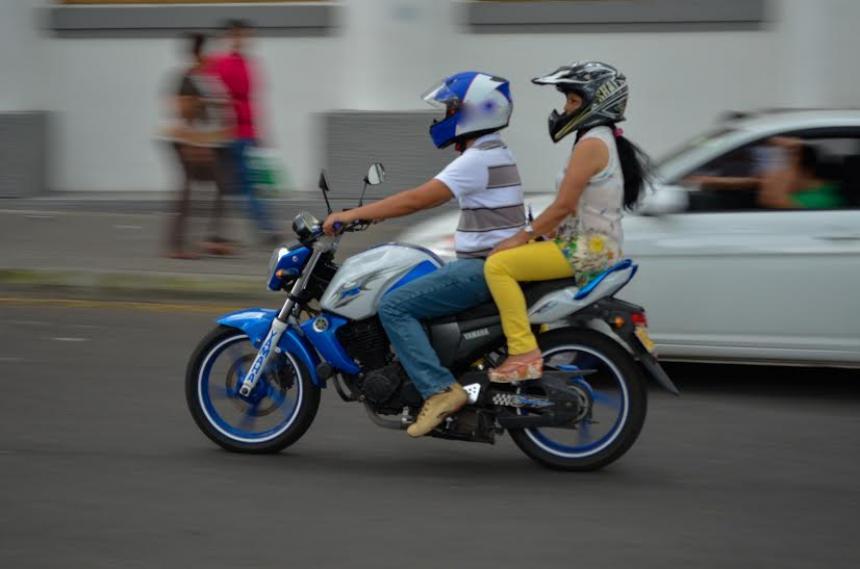 Motociclistas respetaron la restricción nocturna de parrillero durante el fin de semana