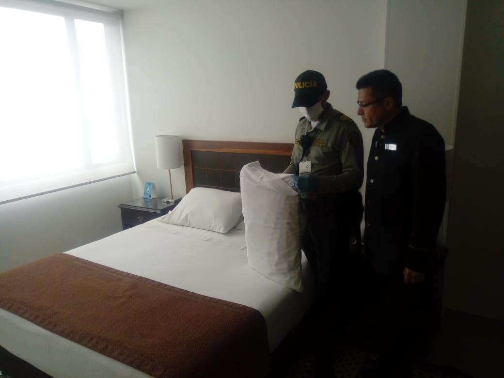 Policía intensificó visitas de control a sitios de alojamiento