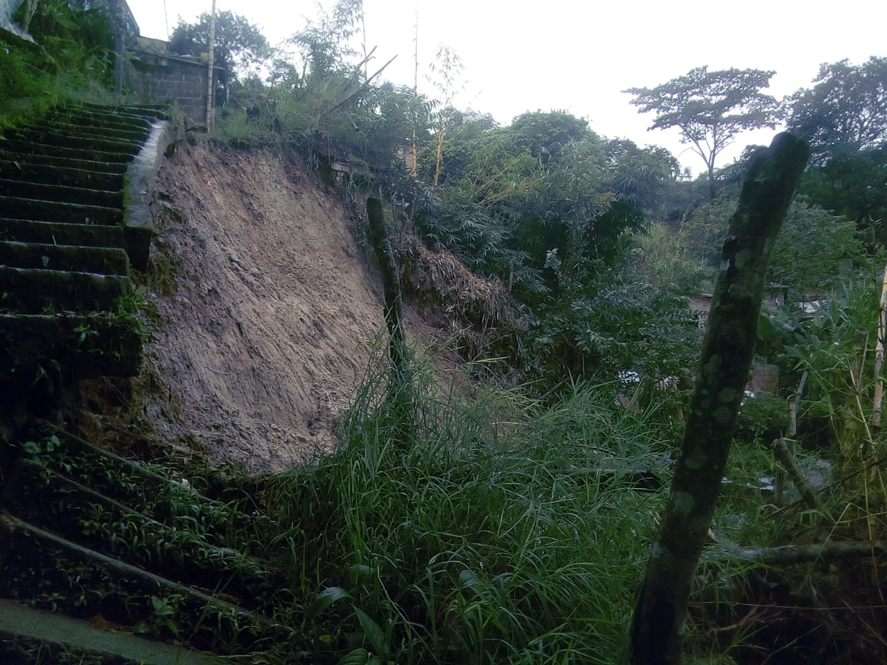 Así quedaron 19 sectores de Ibagué afectados por inundaciones y deslizamientos