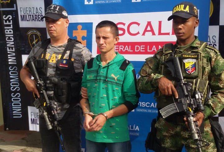 Capturado presunto extorsionista de banda delincuencial Los Rojas