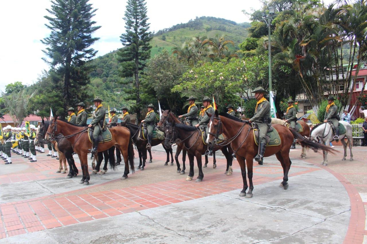 Con éxito finalizó la Ruta Carabinera 4.0: Visitaron ocho municipios y 121 veredas