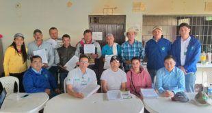 Cortolima firma convenios de cooperación con JAC de Las Hermosas para descontaminar el río Amoyá