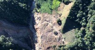 Por deslizamiento, 14 veredas de Chaparral están incomunicadas
