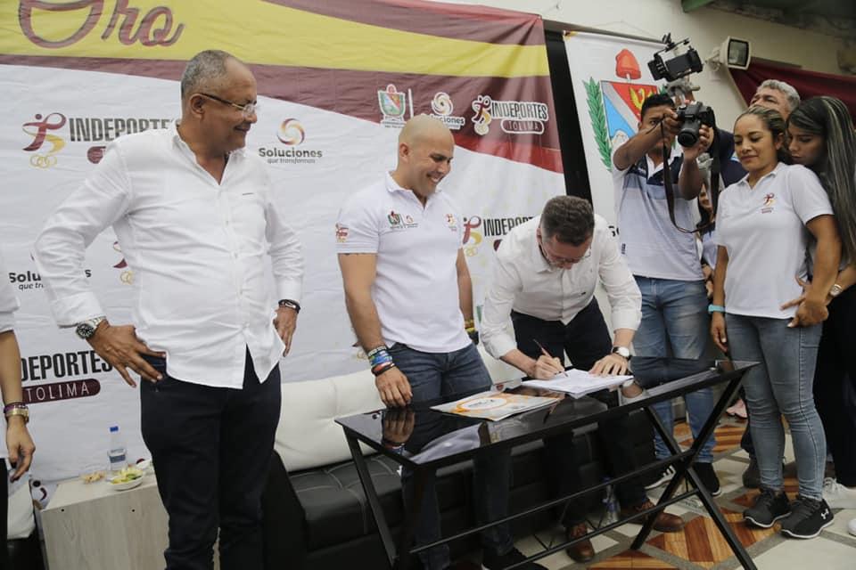 """$ 8.200 millones para Tolima en Juegos: """"Le apuntamos al bienestar del deportista, la dignidad, el respeto"""", Sandra Varón"""