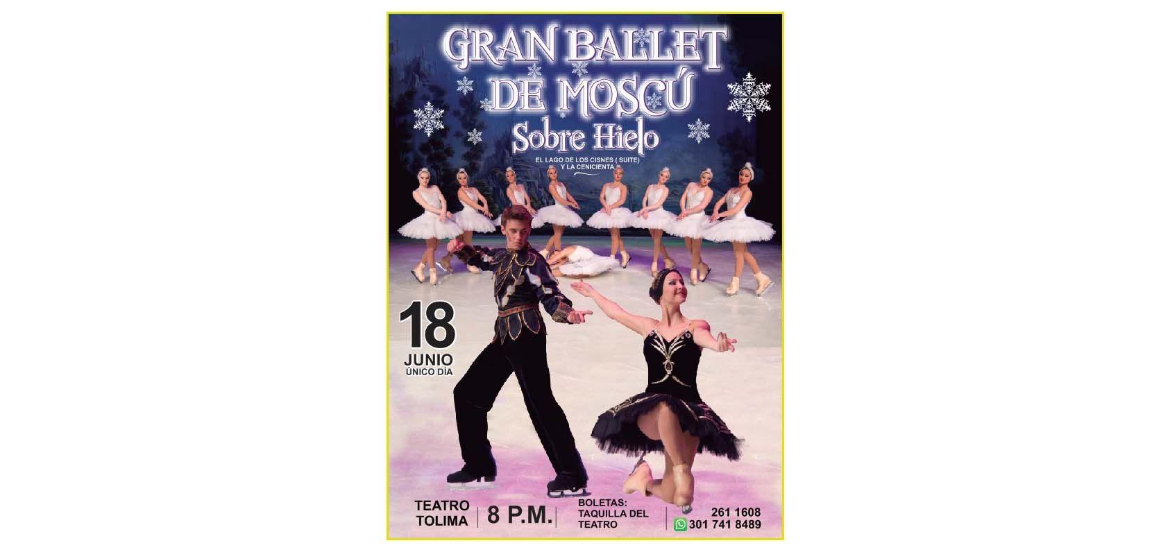 Gran ballet ruso sobre hielo en Ibagué