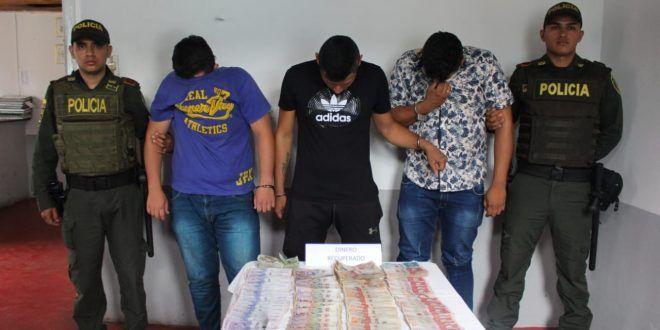 Cogieron a los tres implicados en robo a Central Pecuaria