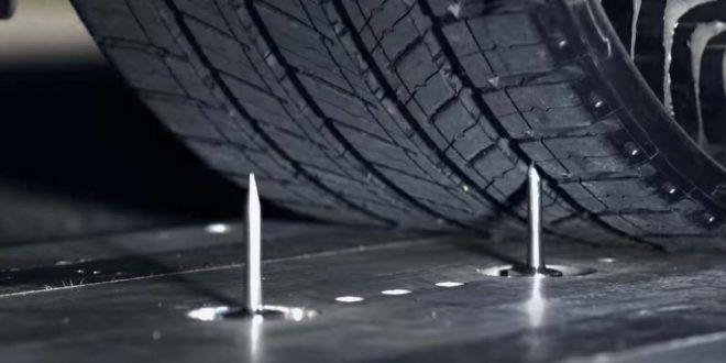 Los 'pinchazos' serán cosa del pasado: Prueban un nuevo tipo de neumáticos sin aire