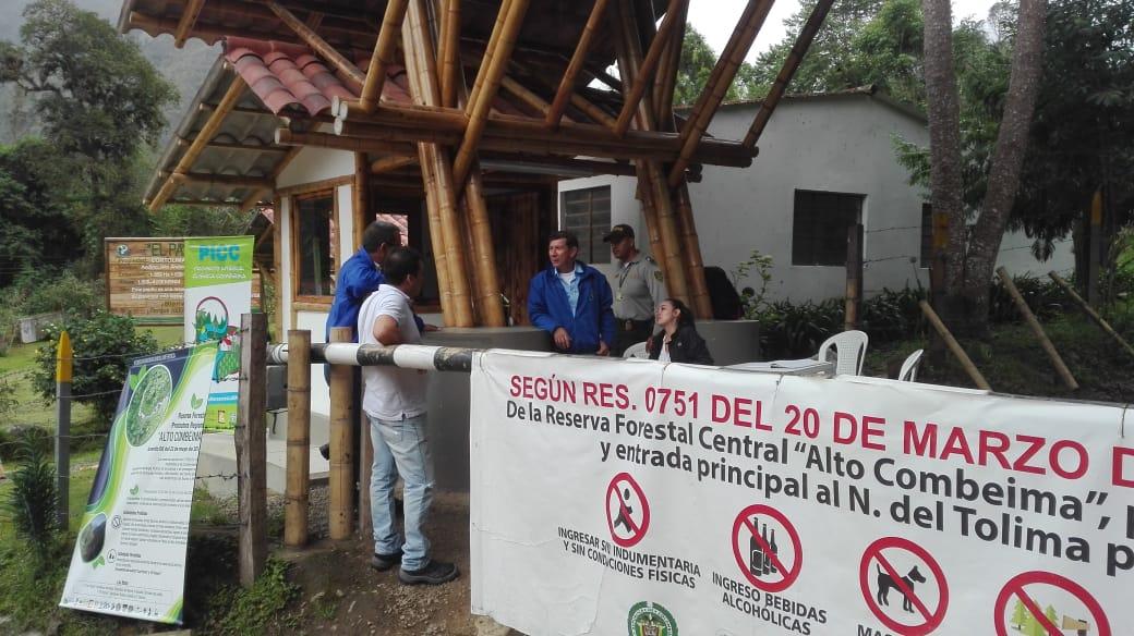 Se reactivan los puestos de control de la Reserva Forestal Protectora Regional Alto Combeima