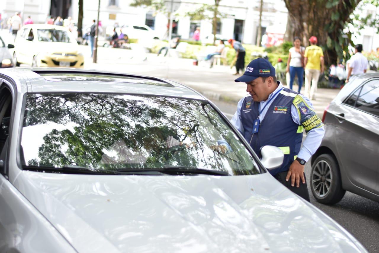 Cerca de 3.000 conductores han sido sancionados por estacionar en sitios prohibidos