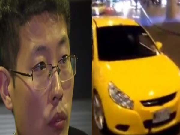 Mamá de taxista ladrón devolvió las maletas del chino que robaron en Bogotá