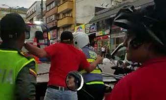 Aumentan agresiones por falta de tolerancia contra agentes de tránsito en Ibagué