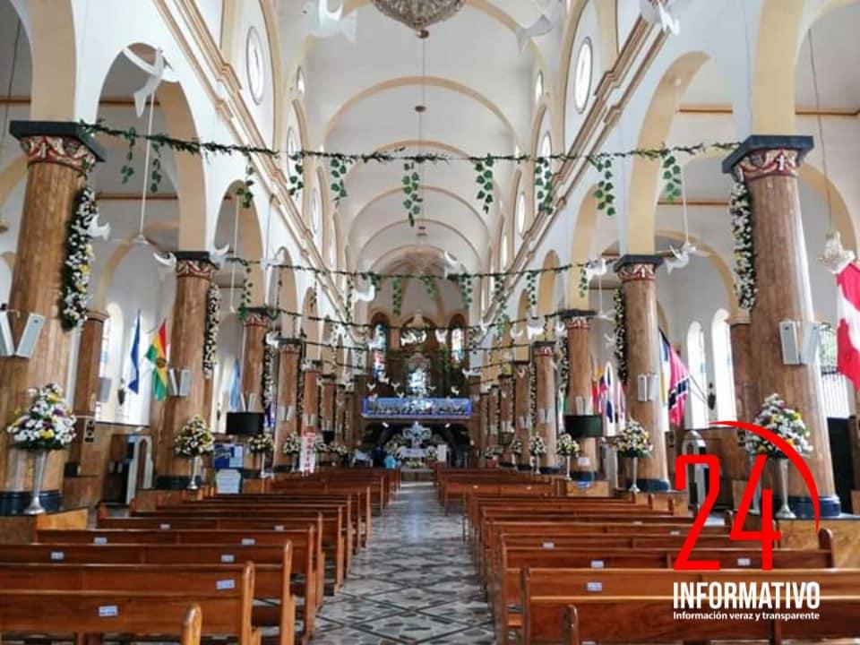 Basílica de Carmen de Apicalá tiene todo listo para recibir a cientos de fieles este martes