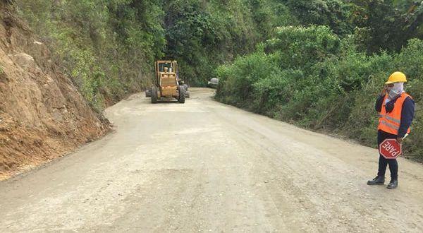 A buen ritmo avanzan las obras de la primera etapa de la vía Ibagué – Rovira