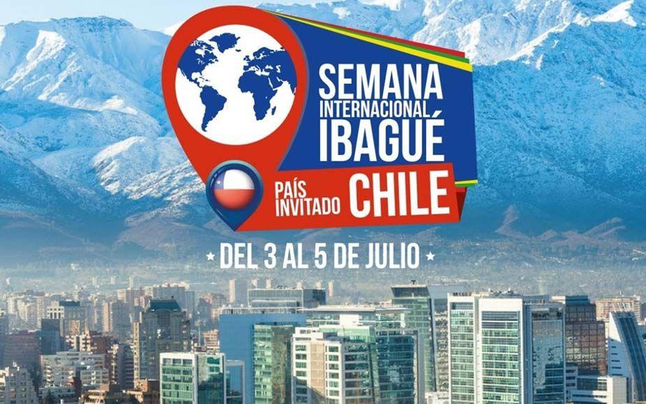 Chile, el país invitado a la Sexta Semana Internacional de Ibagué
