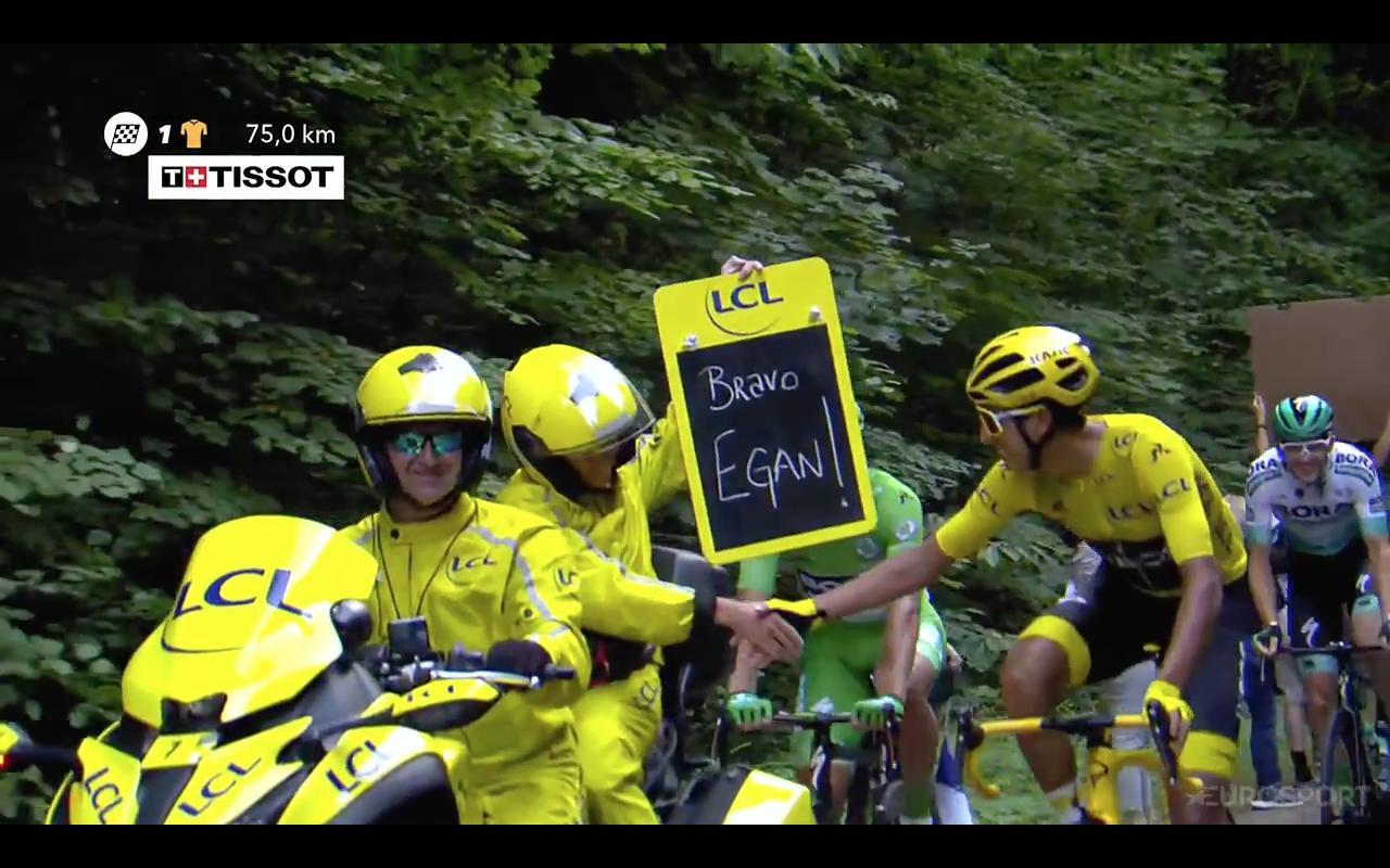 Celebran Colombia y Latinoamérica: Egan Bernal es campeón del Tour de Francia