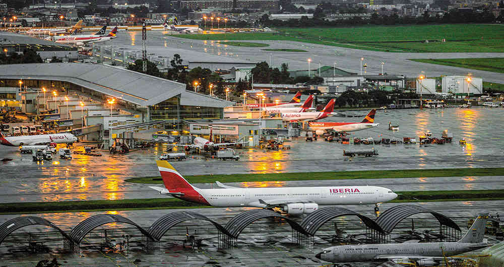 Aeropuerto El Dorado movió a 16 millones de pasajeros durante el primer semestre de este año