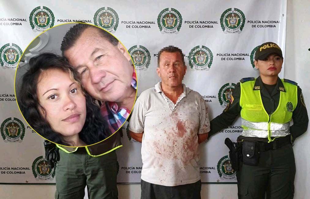 Pensionado de la Policía mató a su mujer a machetazos en presencia de su hijo en Carmen de Apicalá