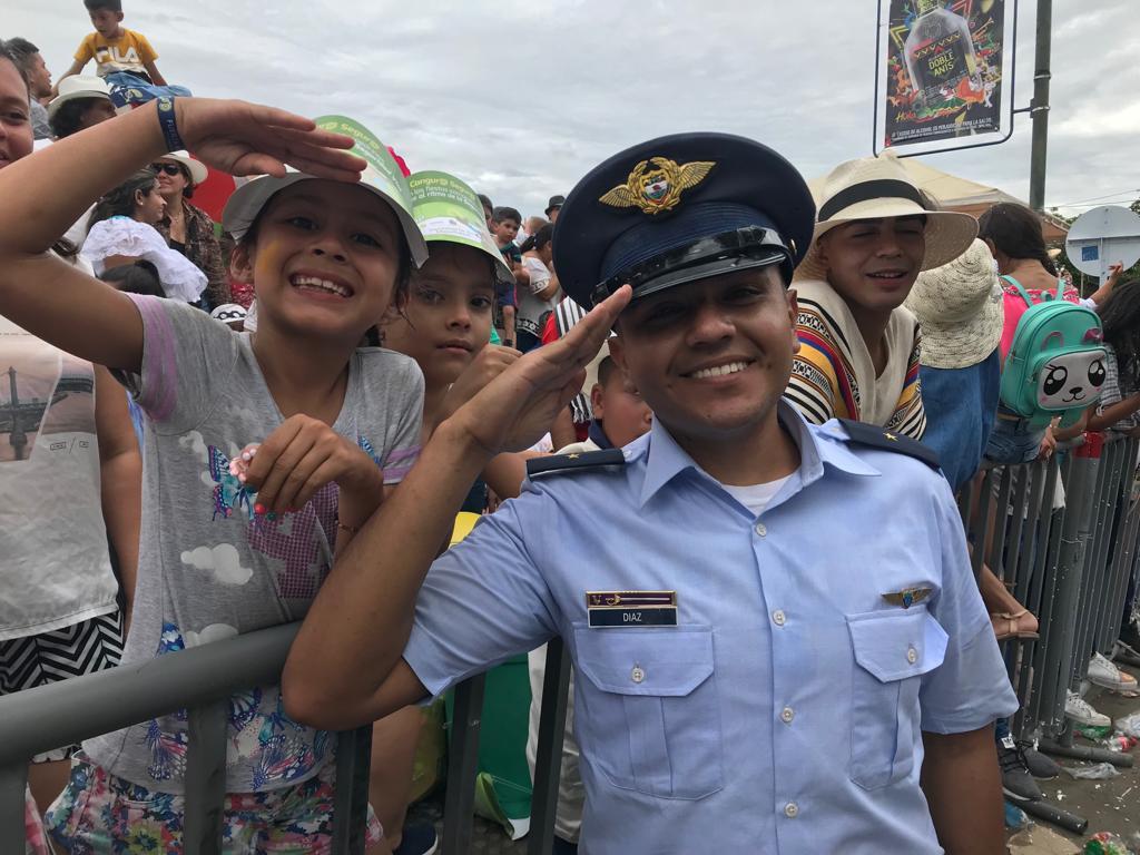 Fuerza Aérea celebró 'por lo alto' sus 100 años en el Tolima y Huila