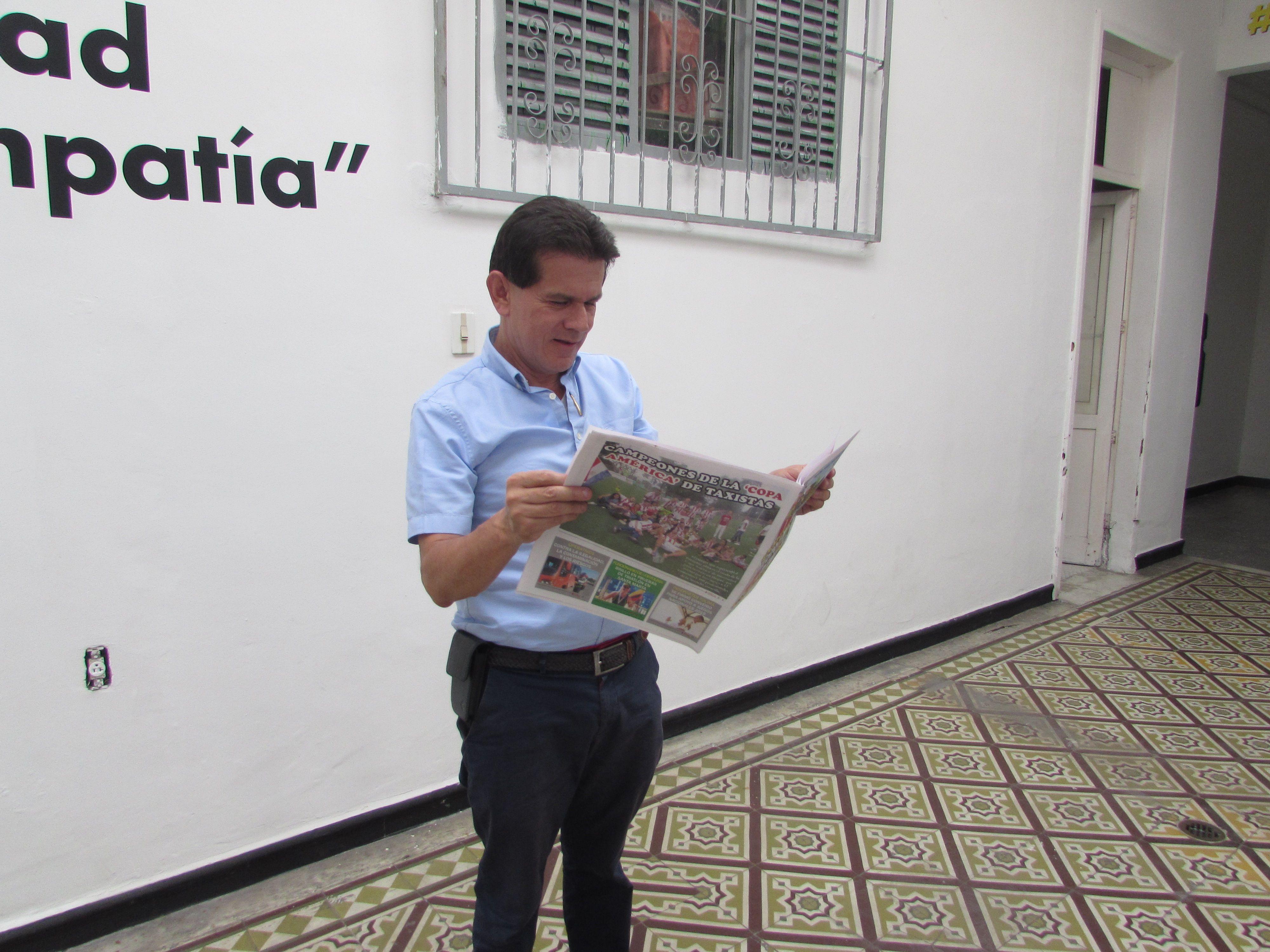 Entrevista con Alfredo Bocanegra: El candidato a la alcaldía habla con LA CABRILLA de los problemas tránsito y movilidad en Ibagué