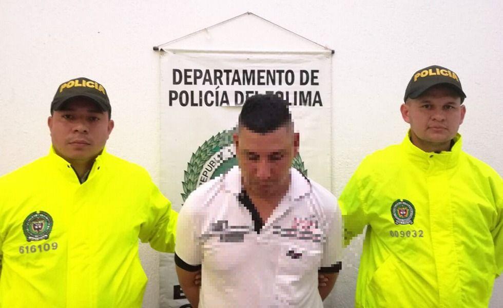 Capturado en Bogotá por rociar gasolina a su ex pareja en una finca de Coyaima