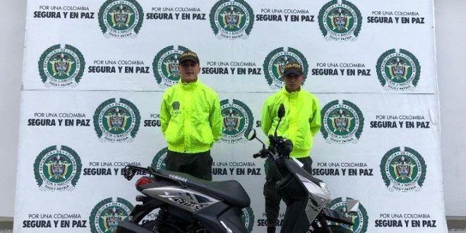 Policía recuperó moto hurtada