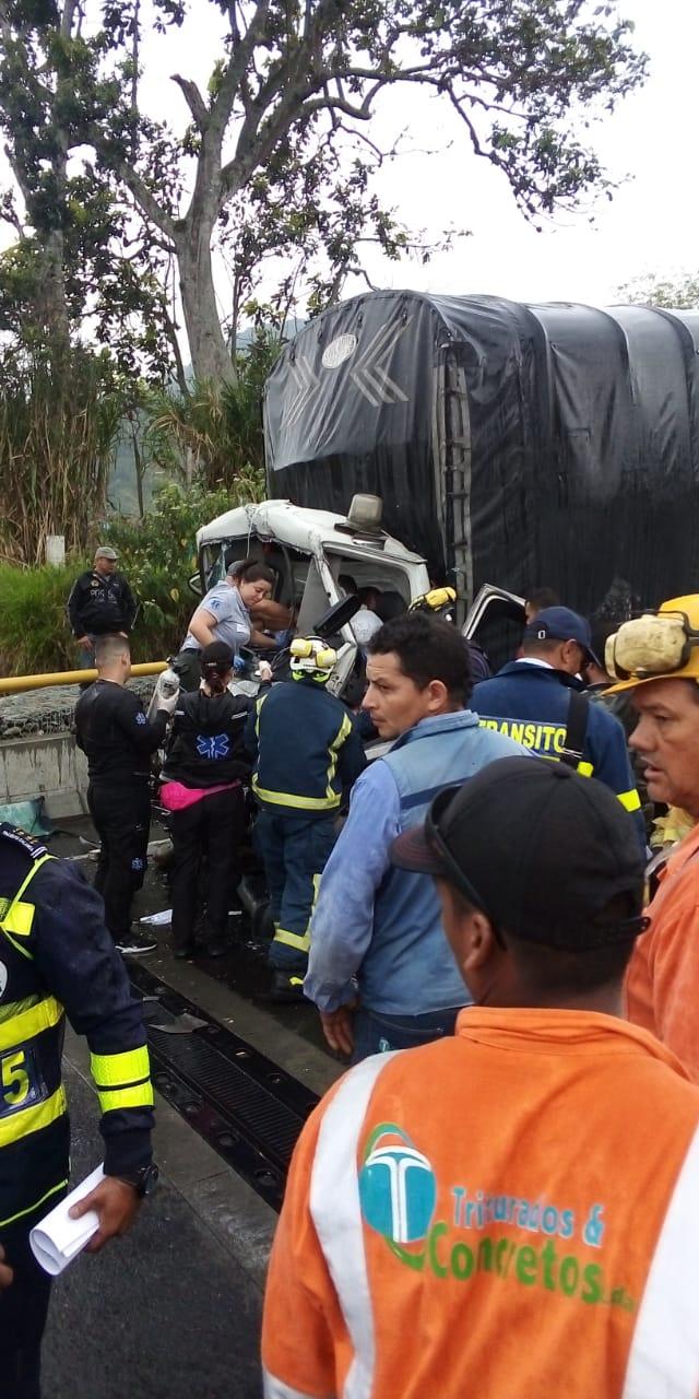 Un muerto y un herido en la última bajada entre La Línea y Calarcá