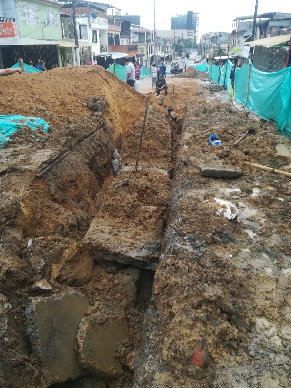 Identificado el operario muerto por caída de placa de concreto en obra del Ibal en el barrio Calarcá