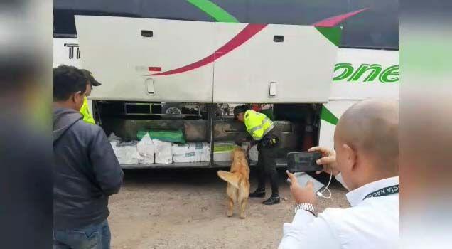 Nuevo golpe a estructuras de 'narco buses' por parte de las autoridades