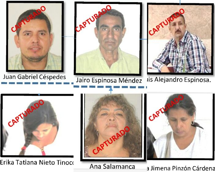Condenados cinco integrantes de la organización delincuencial del cartel del 'narcobus' en Ibagué