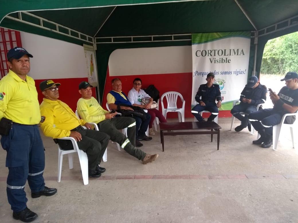 Recomendaciones de Cortolima para los fieles y peregrinos en Carmen de Apicalá