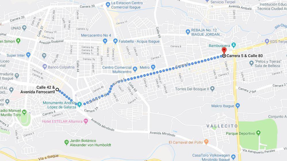 Atentos a los cierres de vías por las dos marchas conmemorativas del 20 de Julio