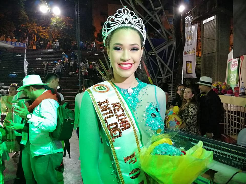 Representantes de Tolima y Panamá fueron coronadas como reinas nacional e internacional de folclor 2019