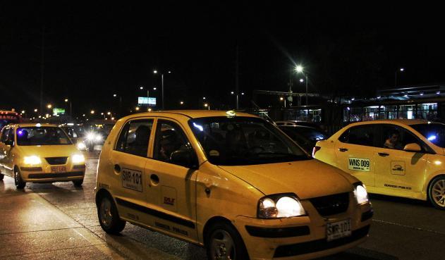 Negocio de los taxis mueve $ 2,9 billones al año sólo en Bogotá
