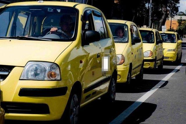 Taxis operarán con el 50 % de su capacidad durante los puentes festivos en Ibagué
