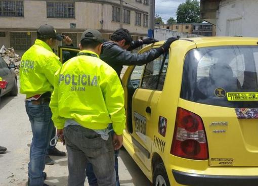 Taxista que 'escopolaminó' a un pasajero para hurtarle, fue asegurado en prisión