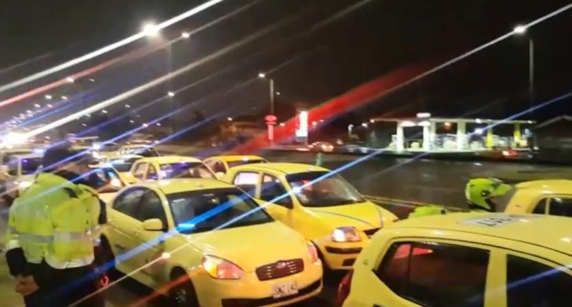 Taxistas anuncian paro nacional para el 16 de marzo