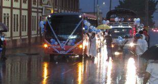 Fotos: Entre lluvia y fervor se celebró el Día de la Virgen del Carmen en Ibagué