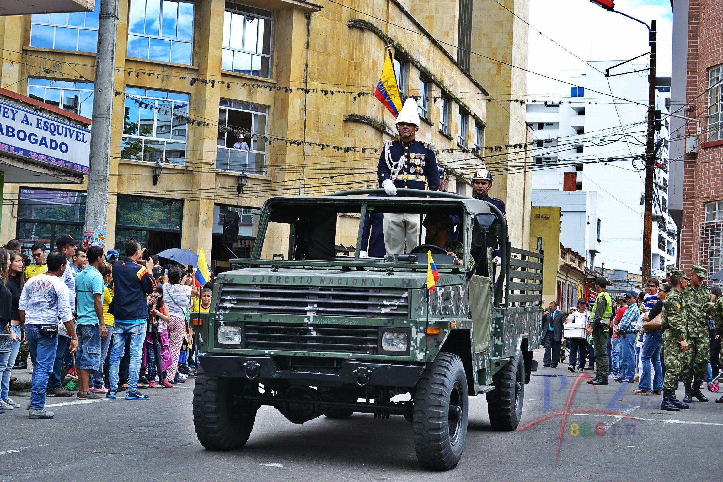 Desfile de Fuerzas Militares y de Policía de este sábado cambió su tradicional recorrido