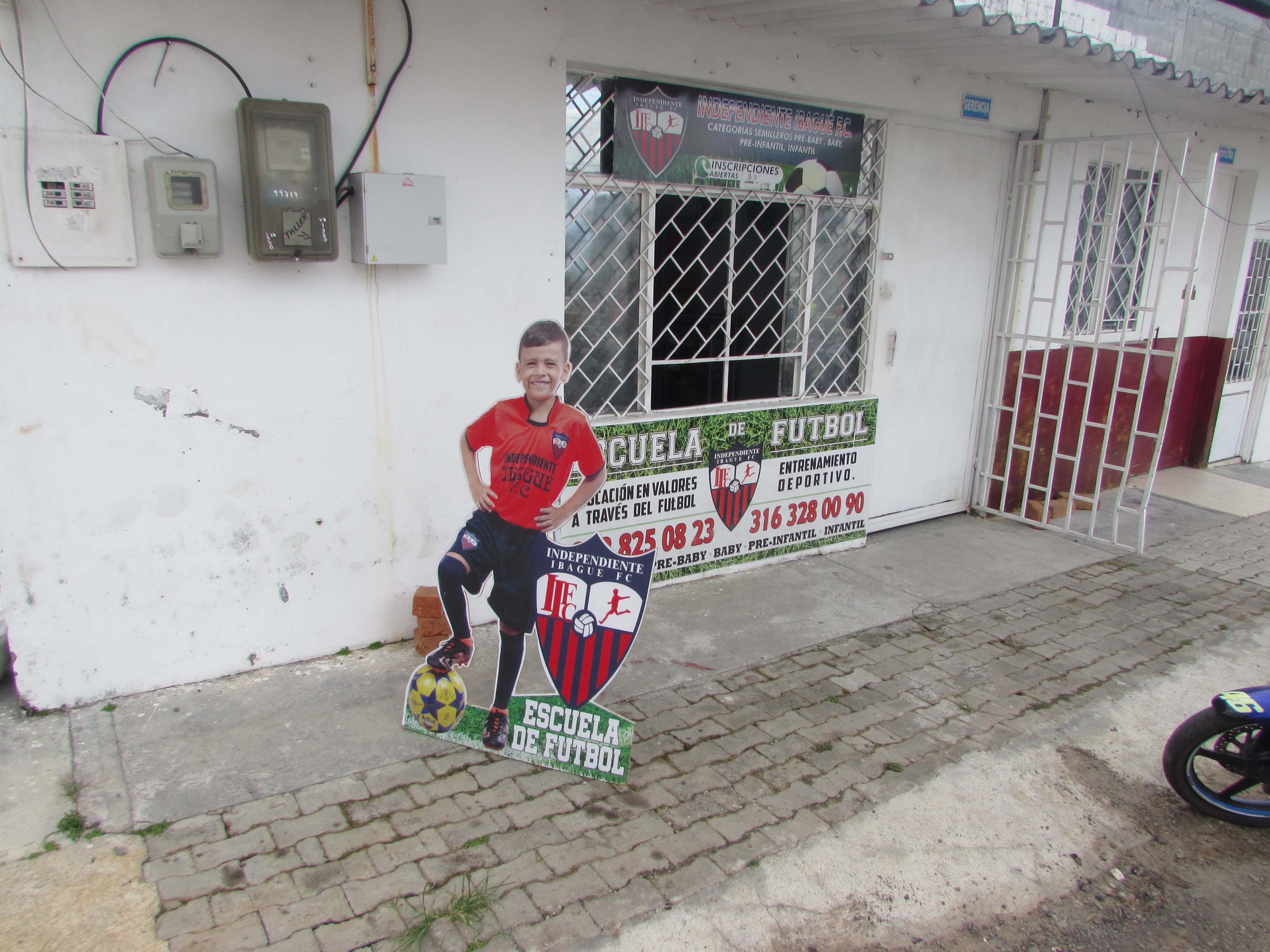 En este 'templo' se jugará la 'Champions' de minifútbol para taxistas en Ibagué