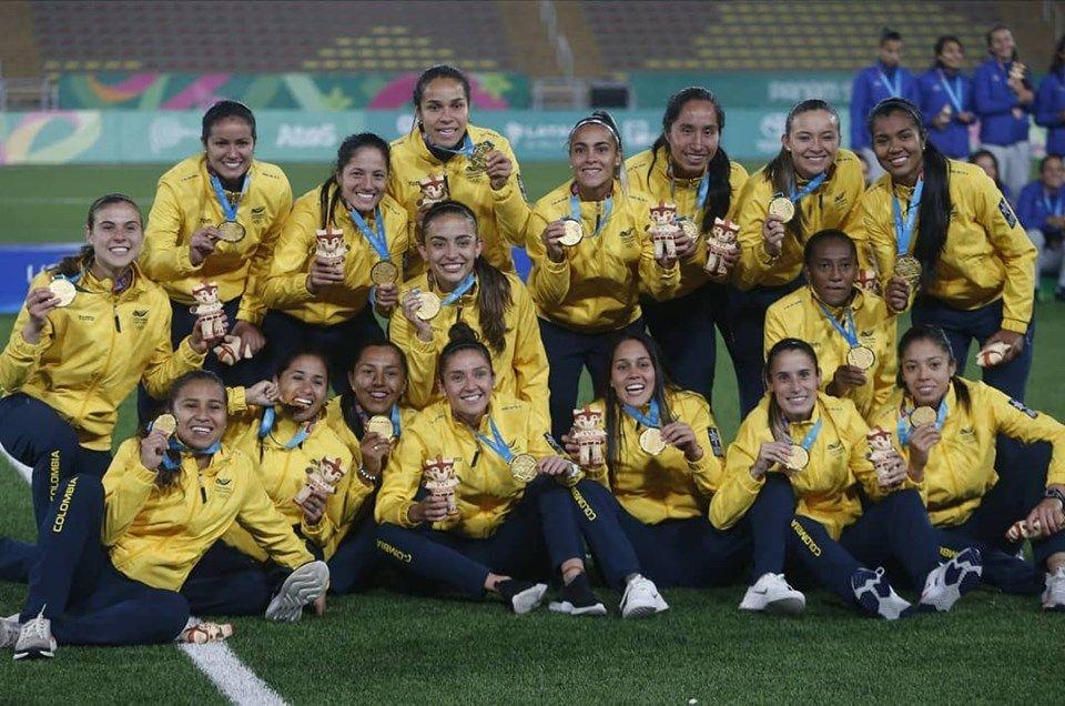 Por primera vez Colombia gana el oro en fútbol femenino en los Panamericanos