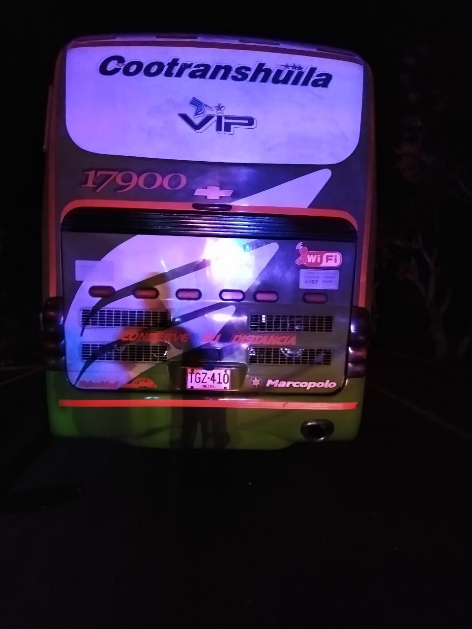 Choque entre bus y tracto camión dejó 16 heridos entre Guamo y Espinal